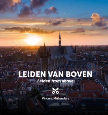 cover Leiden van boven